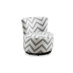 Kids Swivel Chair in Gray