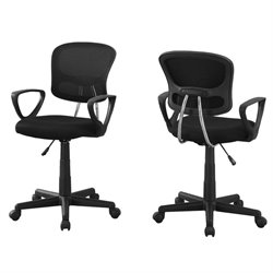 Adjustable Office Chair in Black