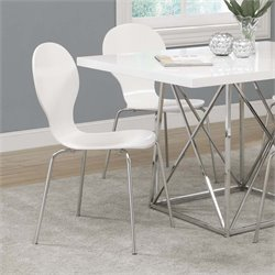Monarch Dining Chair in White (Set of 4)