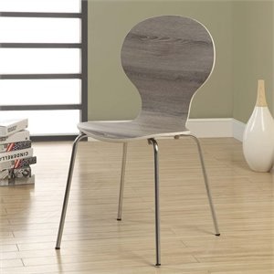 Dining Chair in Dark Taupe (Set of 4)