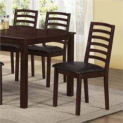 Dining Chair in Walnut Brown (Set of 2)