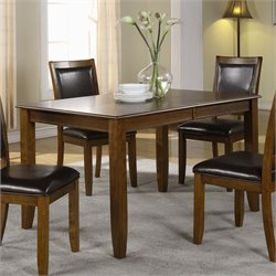 Monarch Extendable Dining Table in Dark Walnut
