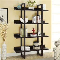 Monarch 4 Shelf Etagere in Cappuccino