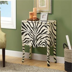 Monarch Traditional Accent Chest in Zebra