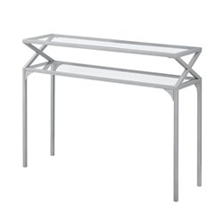 Monarch Console Table in Silver