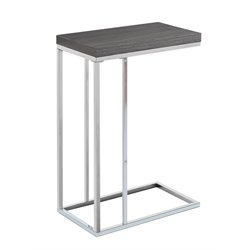 Monarch Accent Table in Gray Wood