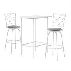 Monarch Bar Table in White