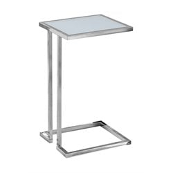 Monarch Accent End Table in Chrome
