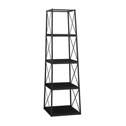 Monarch 4 Shelf Metal Bookcase-SH9