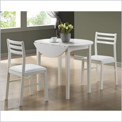 Monarch 3 Piece Dining Set with 36