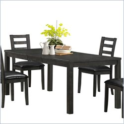 Monarch Dining Table in Charcoal Grey