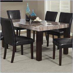 Monarch Dining Table in Brown