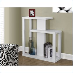 Monarch Console Accent Table in White