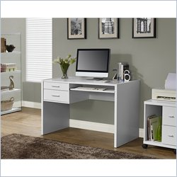 Monarch 41 inch Computer Desk in White