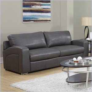 Sofa in Charcoal Gray