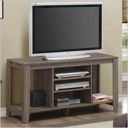 Monarch 48 inch TV Console in Dark Taupe