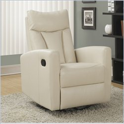 Monarch Glider Recliner in Ivory