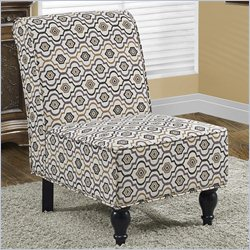 Monarch Accent Chair in Earth Tone