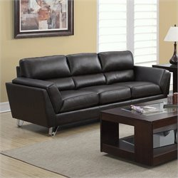 Monarch Sofa in Dark Brown