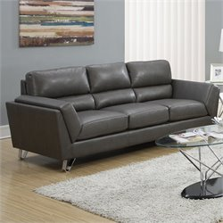 Monarch Sofa in Charcoal Gray
