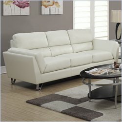 Monarch Sofa in Ivory