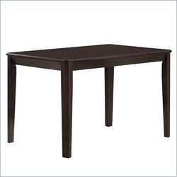 Monarch Dining Table in Cappuccino