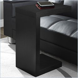 Monarch Hollow-Core Accent Table in Black