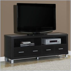 TV Console in Cappuccino with Drawers
