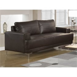 Monarch Emory Leather Sofa in Brown