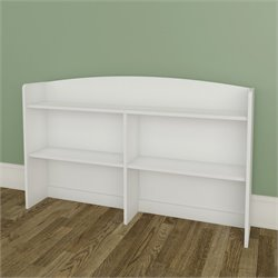 Nexera Vichy Bookcase Hutch in White