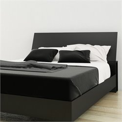 Nexera Queen Panel Headboard in Black