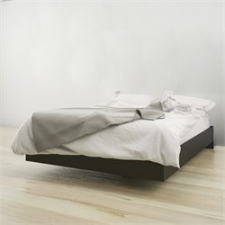 Nexera Full Platform Bed in Black