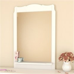 Nexera Dixie Mirror in White