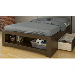 Nexera Dixon Full Storage Bed in Espresso