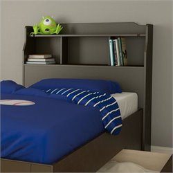 Nexera Dixon Twin Bookcase Headboard in Espresso