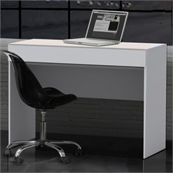 Nexera Blvd 1 Drawer Desk in White