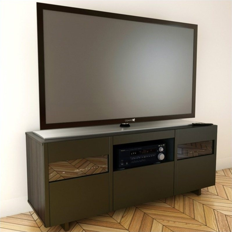 Nexera Nuance 60-inch TV Stand in Expresso Finish