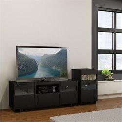 Nexera Vision 2 Piece Entertainment Set in Black