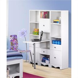 Nexera Pixel 3 Piece Bedroom Set in White