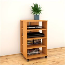 Nexera Jasper Mobile Storage Tower in American Beech