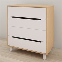 Nexera Nordik 4 Drawer Chest in Maple