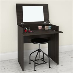 Nexera Jetset Lift Top Vanity in Ebony