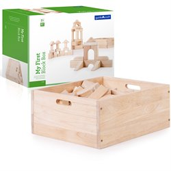 Guidecraft My First Block Box 62 Piece Set