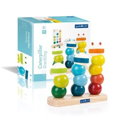 Guidecraft Manipulatives Caterpillar Stacking