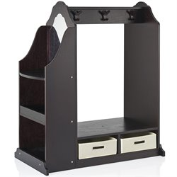 Guidecraft Dress Up Vanity in Espresso