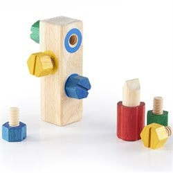 Guidecraft Hardwood Screw Block
