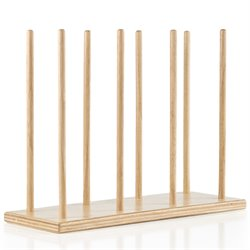 Guidecraft Hardwood Puppet Stand