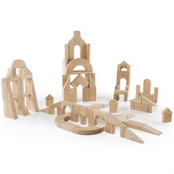 Guidecraft 170 Pieces Classroom Unit Blocks