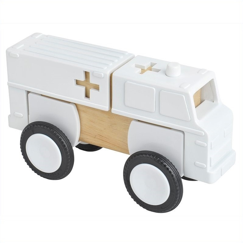 Guidecraft Block Mates: Community Vehicles