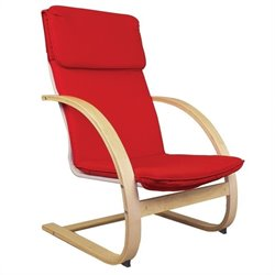 Guidecraft Teachers Rocker in Red